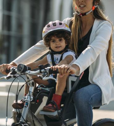 Emmener bébé en vélo en toute sécurité
