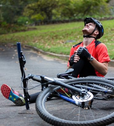 Choc et traumatisme psychologique après un accident de vélo